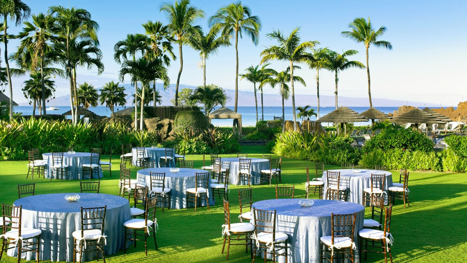 Sheraton Maui Resort & Spa - Anuenue Lawn Wedding Day