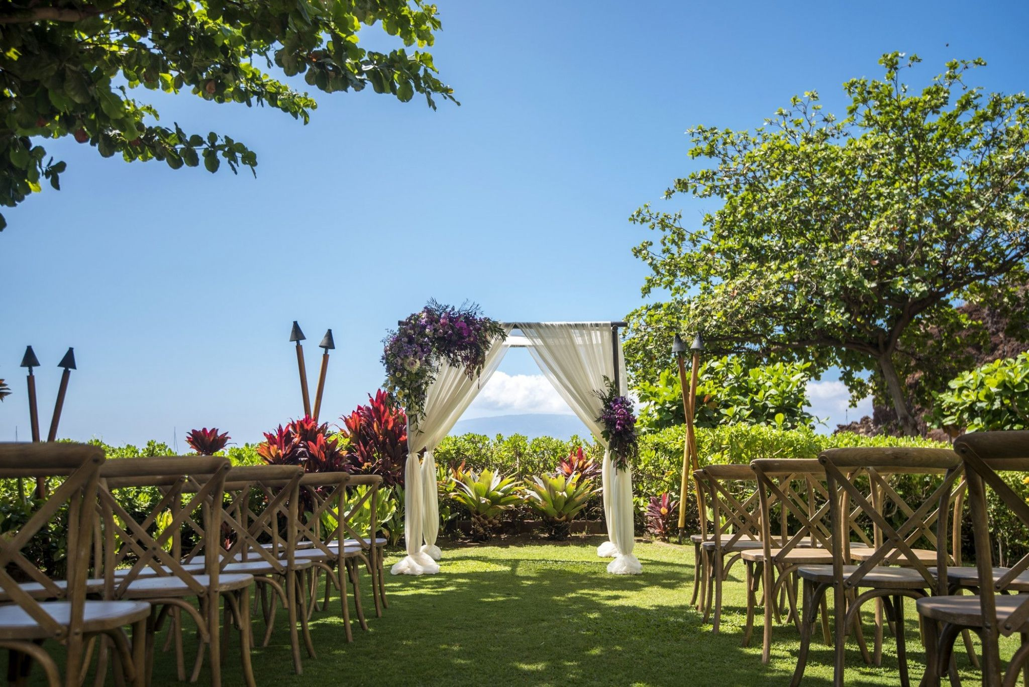 Sheraton Maui Resort & Spa - Black Rock Lawn Wedding Ceremony