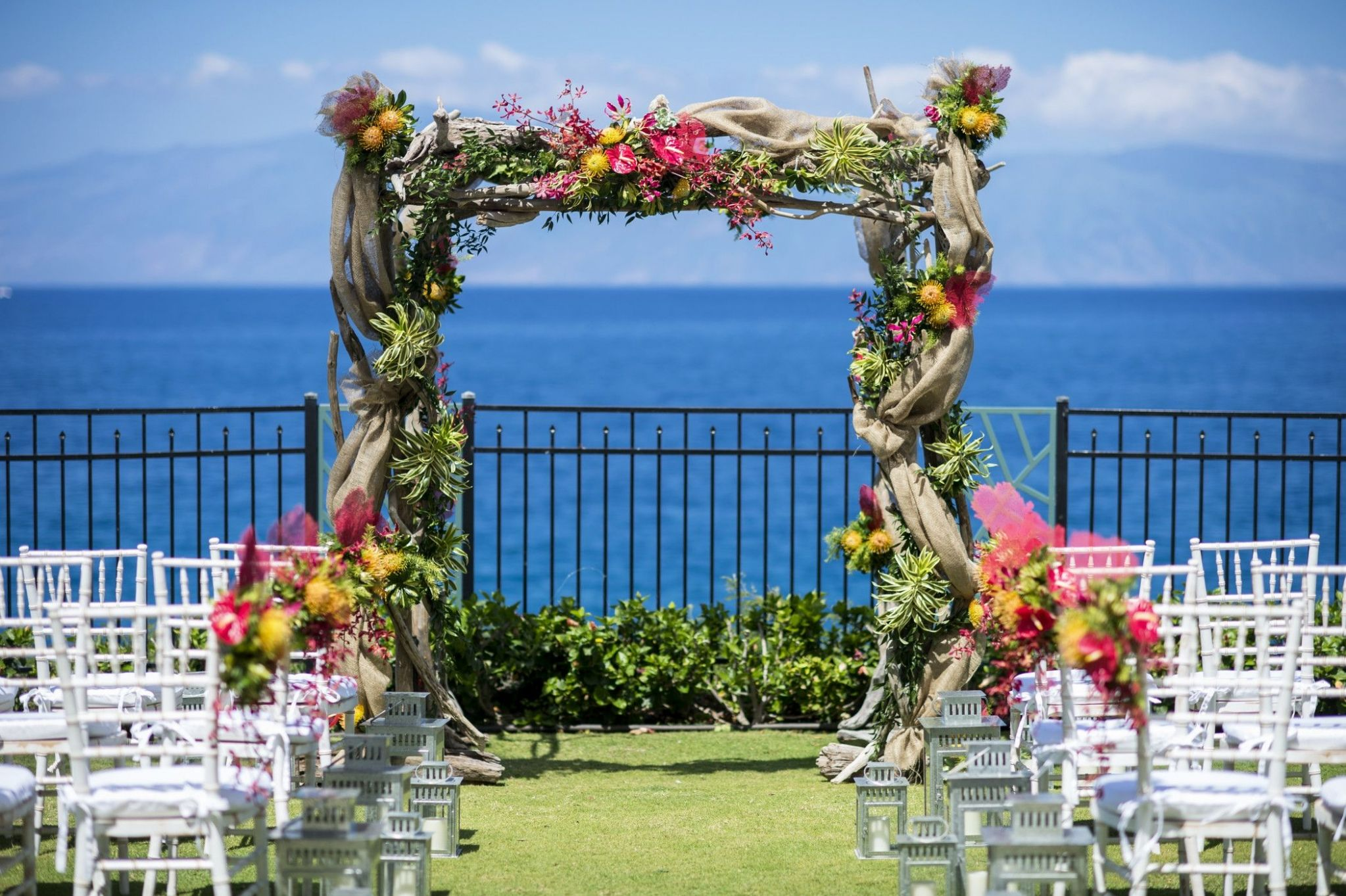 Sheraton Maui Resort & Spa - Moana Lawn Wedding Altar